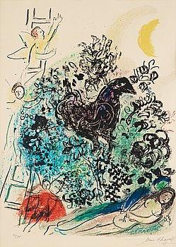"""63. Marc Chagall, """"Songe d'un amoureux""""."""