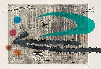"""61. Joan Miró, """"Vers la gauche""""."""