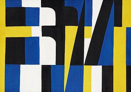 """Lennart rodhe, """"kontraster ii"""" (contrasts ii)."""