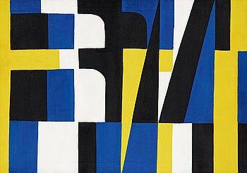 "50. Lennart Rodhe, ""Kontraster II""."