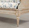 A gustavian late 18th century sofa.