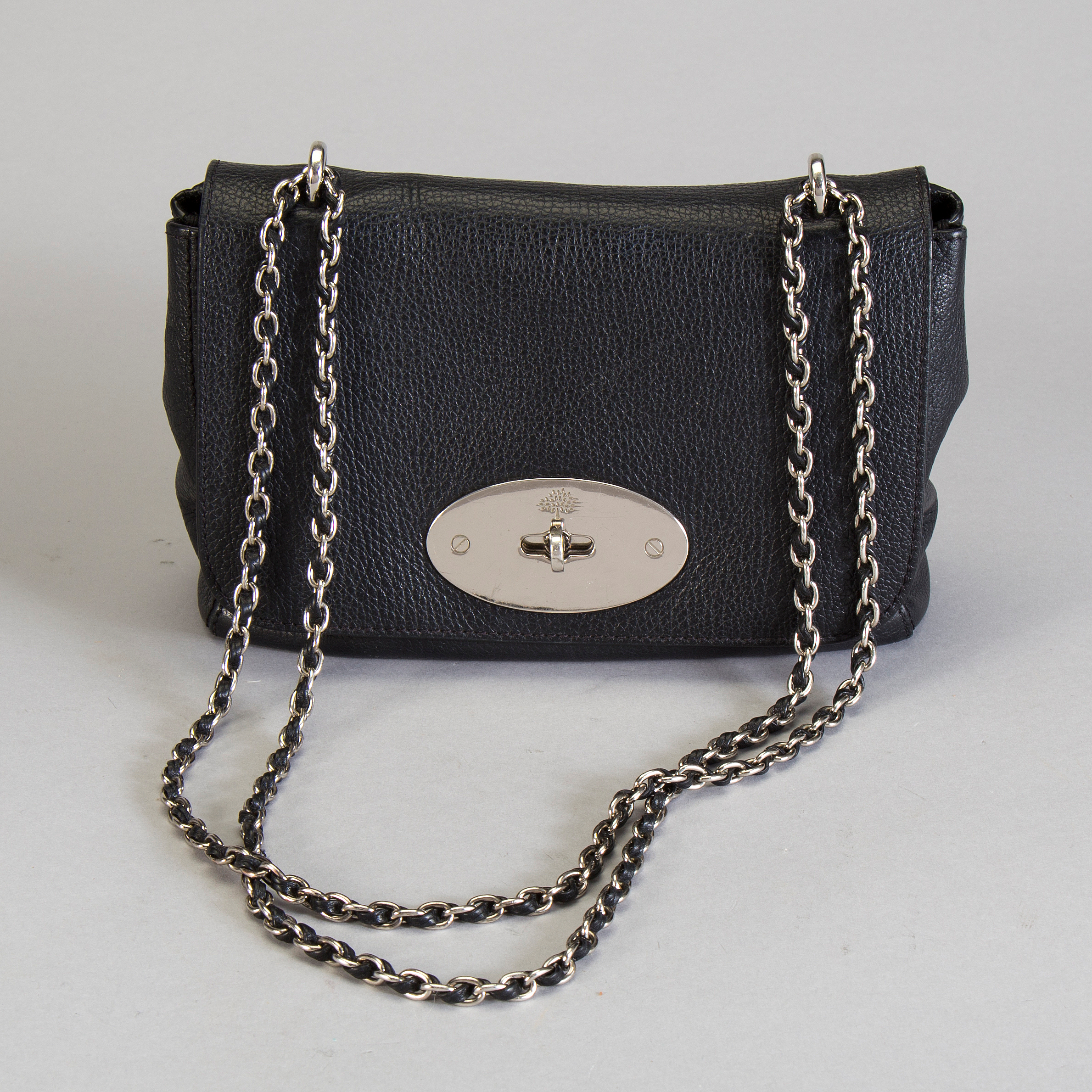 3212ec3ea7 ... low price mulberry a black leather mulberry lily shoulderbag. bukowskis  d7e91 8525b