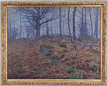 WILHELM BEHM, olja på duk, signerad och daterad 1904.