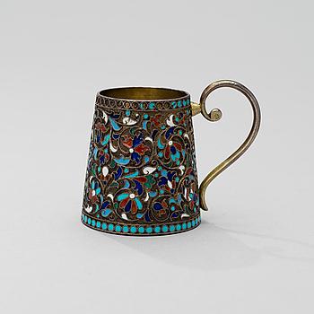 CHARKA, silver, Gustav Klingert Moskva 1899-1908, Stefan Wäkevä.