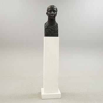 LISS ERIKSSON, skulptur i brons. Signerad och numrerad 2/5. Gjutarstämplar cire perdue Valsuani.