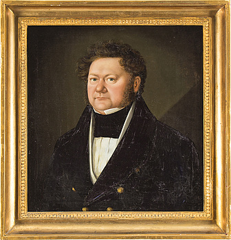 CARL PETER LEHMANN, attributed to, oil painting on canvas.