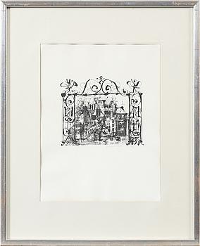ANTONI CLAVÉ, ANTONI CLAVÉ, litograph, signed, epreuve d'artiste.