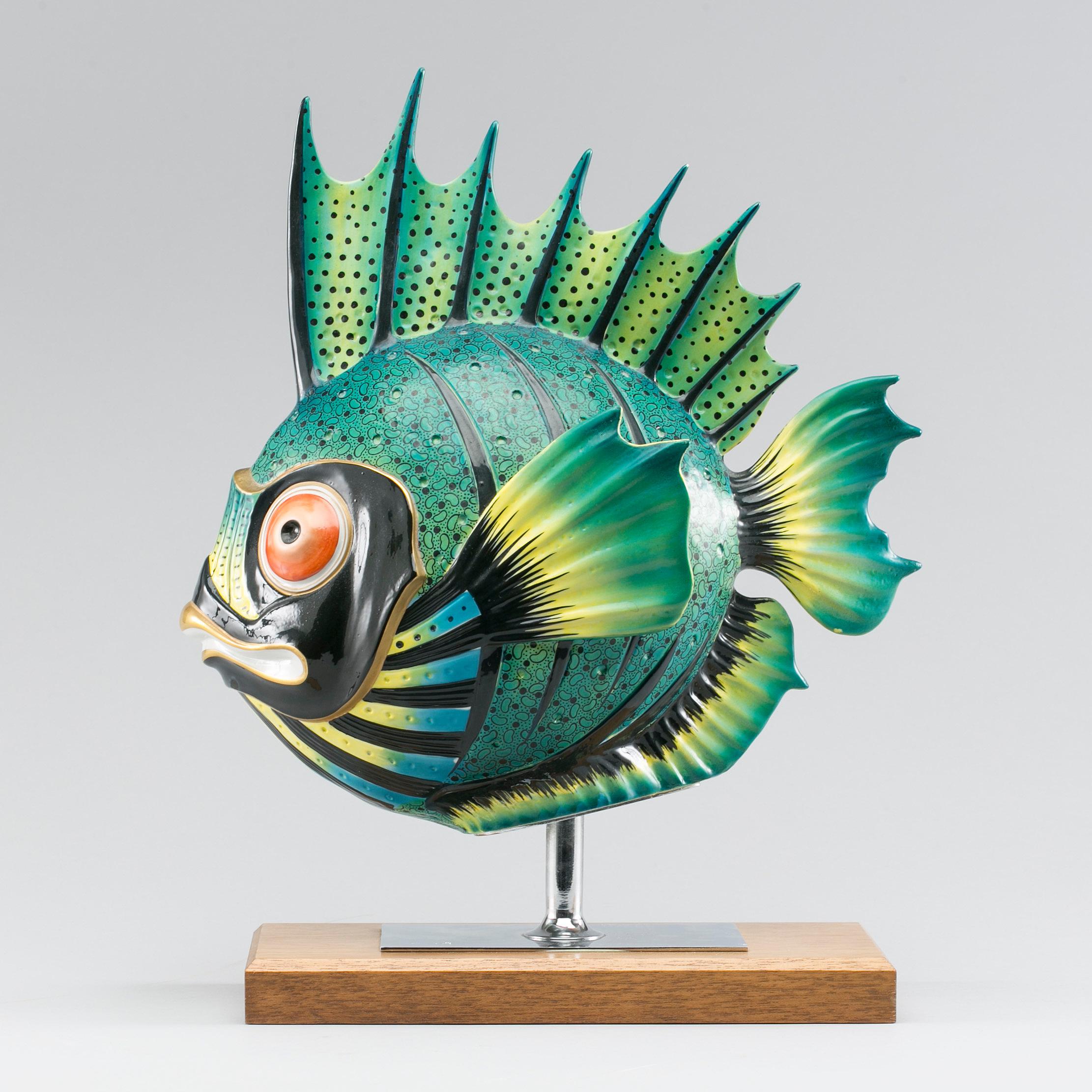 keramik fisk Auktionstipset   FISK Keramik. Italien, 1970 tal. keramik fisk