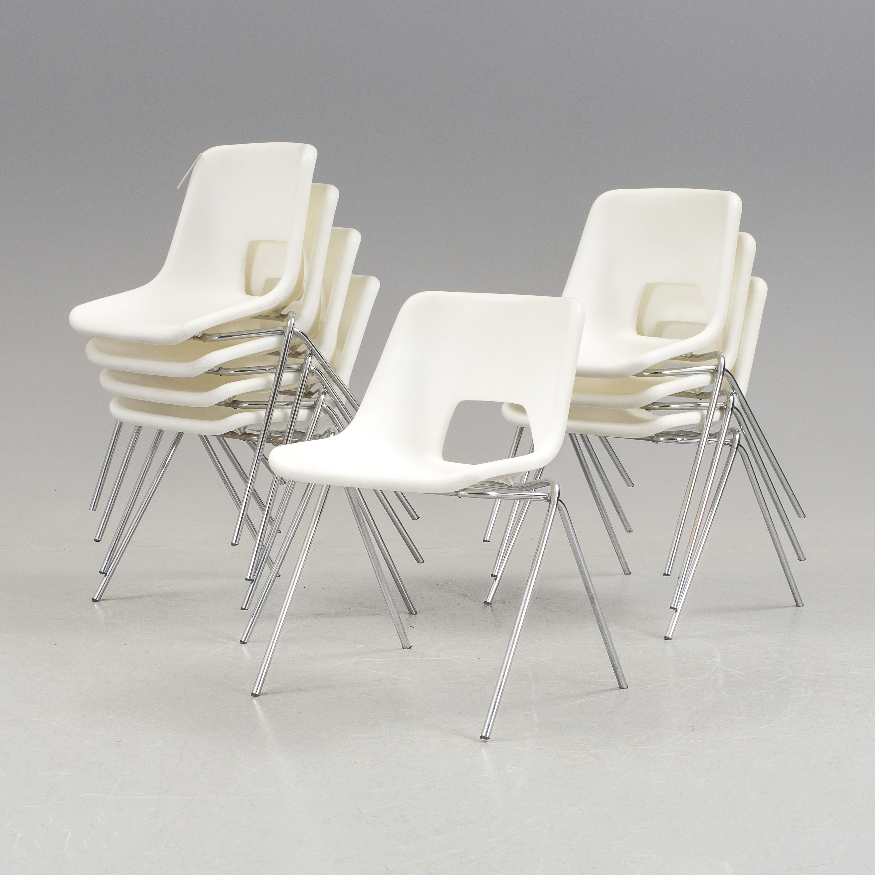 IKEA, 8 plastic chairs, modell