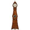 A swedish rococo 18th century longcase clock.