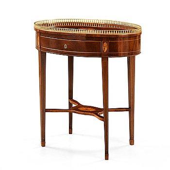 505. A late Gustavian circa 1800 table.