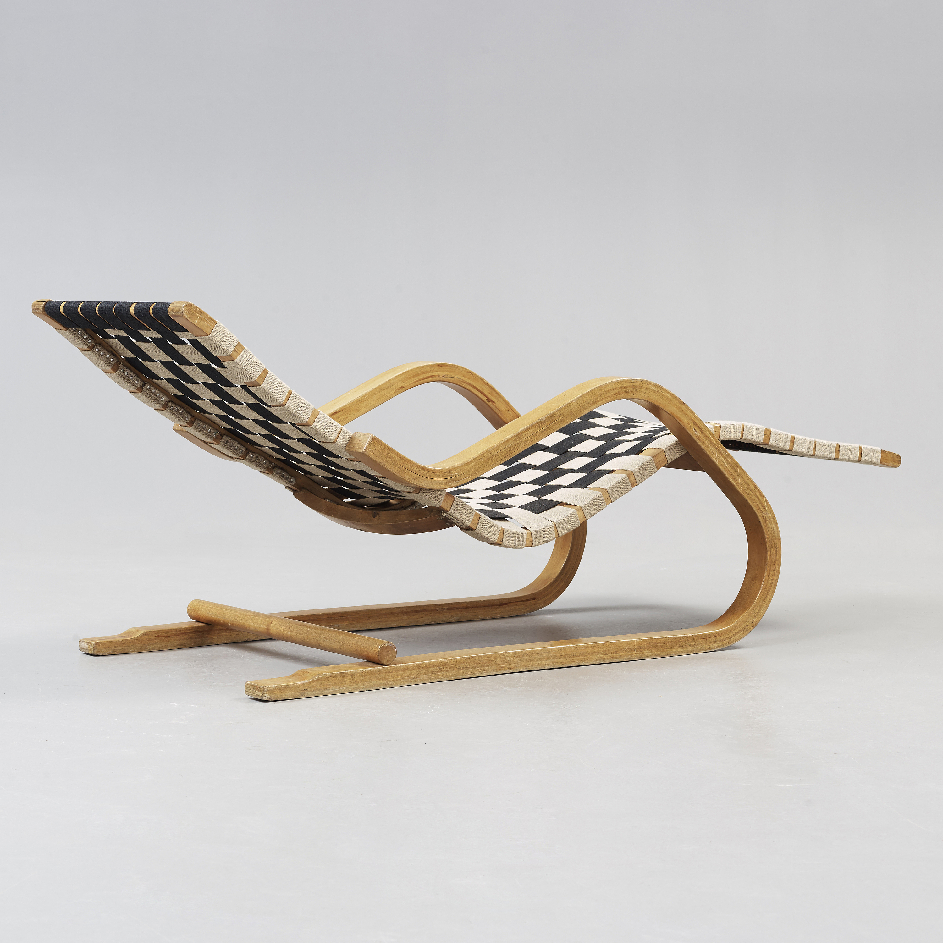 Sensational An Alvar Aalto Model 39 Lounge Chair Made On License In Pabps2019 Chair Design Images Pabps2019Com