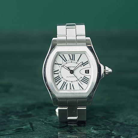 Cartier, roadster, armbandsur, 41 x 36,5 (45,5) mm,