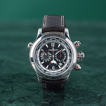 JAEGER-LECOULTRE, Master Compressor, Extreme World Chronograph, wristwatch, 46 mm,