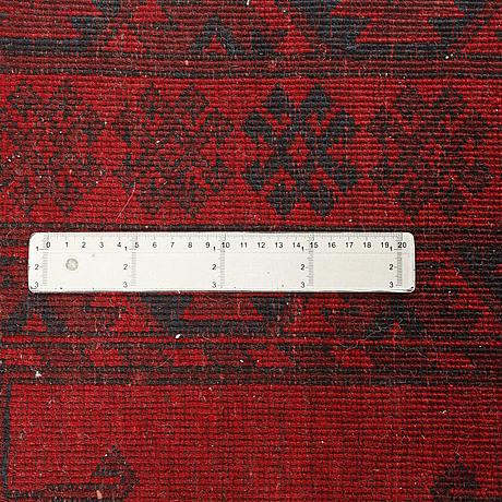 Matta, afghan, semiantik, 230x145 cm.