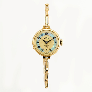 HOMIS, wristwatch, 21 mm,