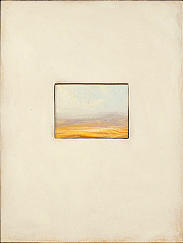 A PAINTING BY PETER FRIE, verso signed and dated 1994.