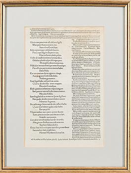 "BOKSIDA, ""Martialis Epigrammata"", ca 1485."