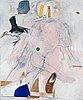 """Pg thelander, """"paradis med stork""""."""