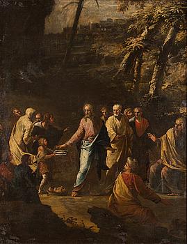 ITALIENSK SKOLA 16/1700-TAL, olja på duk.