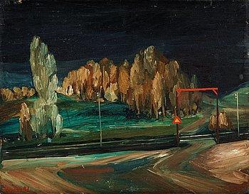 10. Peter Weiss, Järnvägsövergången.