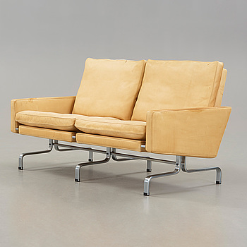"""POUL KJAERHOLM, soffa """"PK-31-2"""", Fritz Hansen, Danmark 1988."""