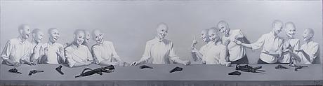 "Liu fei, ""the last supper (the power of fashion#31)""."