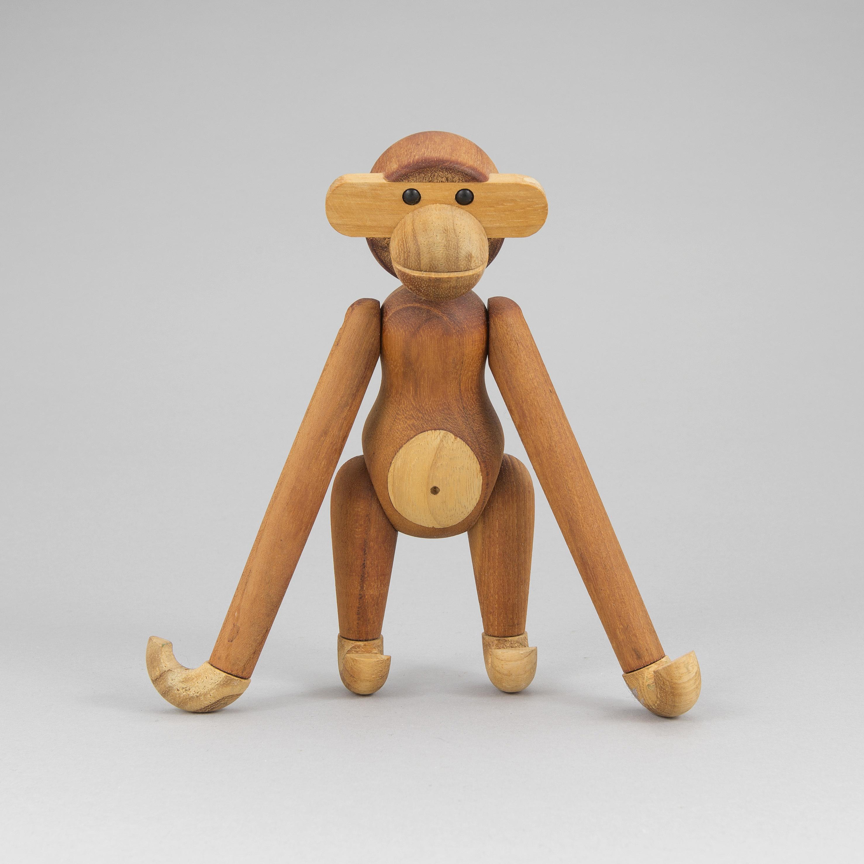 A Kay Bojesen Wood Figurine In The Shape Of A Monkey Bukowskis