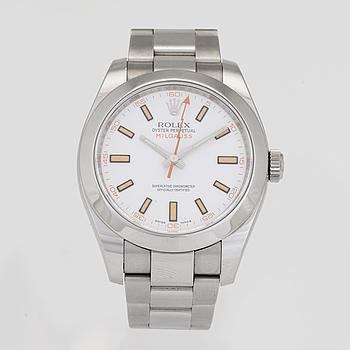 ROLEX, OP, Milgauss, Chronometer, wristwatch, 40 mm,
