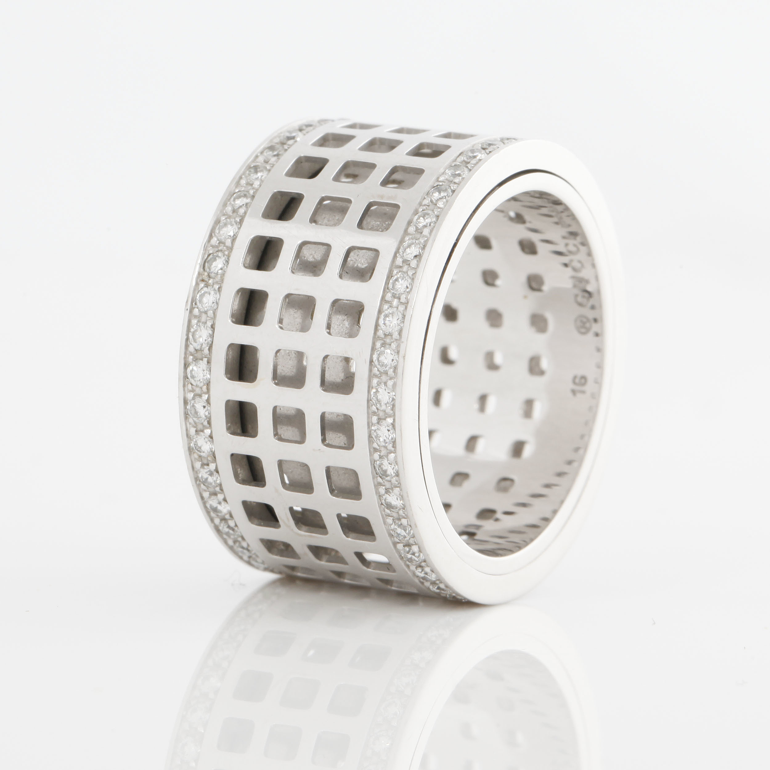 aaa033b12 A 'Spinning' eternity ring by Gucci set with round, brilliant-cut diamonds.  - Bukowskis