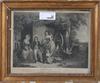 Grafiskt blad, england, 1800-tal.