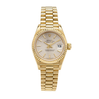 ROLEX, Oyster Perpetual Datejust, Chronometer, wristwatch, 26 mm,