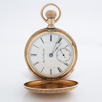 ELGIN NATL. WATCH CO., pocketwatch, savonett, 54 mm.