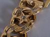 Armbandsur, ebel. armband i 18k guld. total vikt 121 g.
