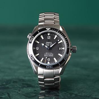 OMEGA, Seamaster, Professional (600m/2000ft), Planet Ocean, Chronometer, armbandsur 42 mm,