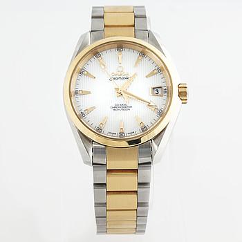 OMEGA, Seamaster (150m/500ft), Aqua Terra, Chronometer, wristwatch, 38.5 mm,