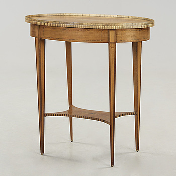 A mahogany table first half of the 20th century.