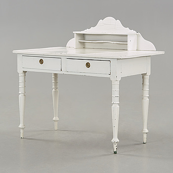 A painted writing desk early 20th century.