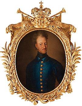 179. JOHAN DAVID SWARTZ, Konung Karl XII av Sverige (1682-1718).