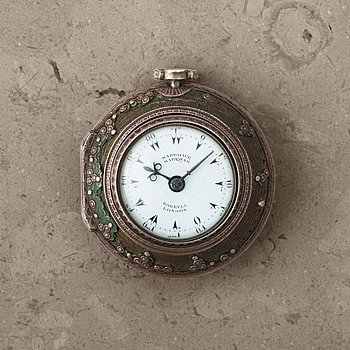 107. MARKWICK MARKHAM, Borrell, London, pocket watch, 28,5-52 mm, made for the Turkish market,