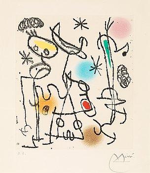 """64. Joan Miró, """"Paroles Peintes III""""."""
