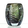 Edvin öhrström, an edvin öhrström ariel glass vase, orrefors, sweden 1937.
