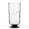 Simon gate, a simon gate engraved glass vase, orrefors, sweden 1931.