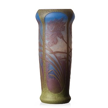1. AXEL ENOCH BOMAN, vas, glas, överfång, Reijmyre 1909, jugend, nr 195.