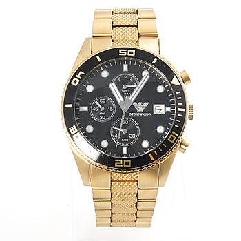 EMPORIO ARMANI, AR5857, wristwatch, 43 mm, chronograph.