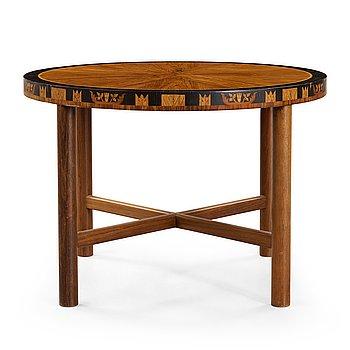 5. CARL MALMSTEN, A Carl Malmsten table, Åtvidaberg, Sweden ca 1934.