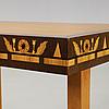 Carl malmsten, a carl malmsten mahogany working table, Åtvidaberg, sweden ca 1934.