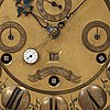 An astronomical longcase clock by johann joseph langschwert court-watchmaker, würzburg, circa 1750.