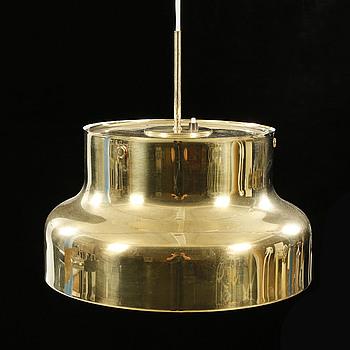 """ANDERS PEHRSON, Ateljé Lyktan, Åhus, """"Bumling"""", taklampa, formgiven 1968, höjd ca 37 cm."""