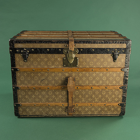 Koffert, louis vuitton.